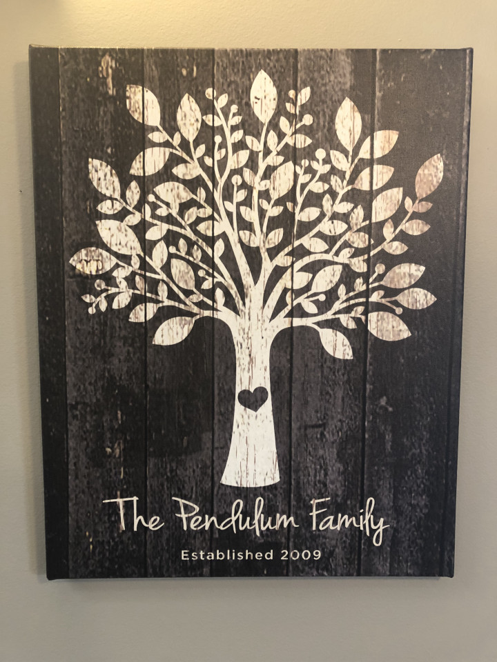 pendulum family tree